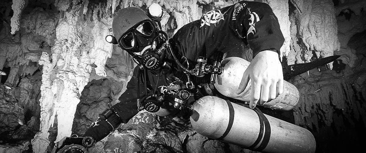 sidemount diving mexico 1