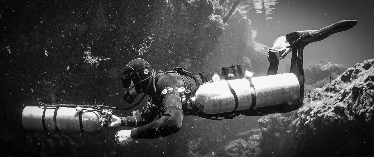 sidemount diver training mexico