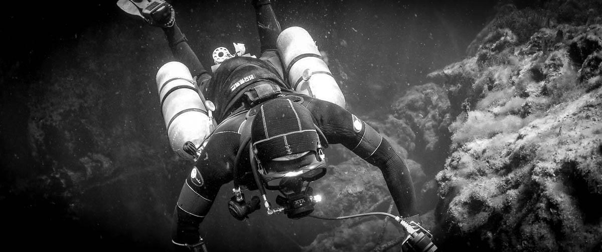 sidemount diving mexico 5